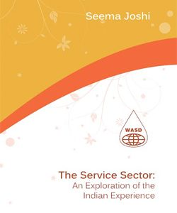 The Service Sector: The Exploration of Indian experience